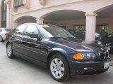 2001 Orient Blue Metallic BMW 3 Series 325i Sedan #30367535