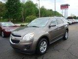 2010 Mocha Steel Metallic Chevrolet Equinox LT #30367538