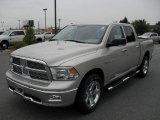 2010 Light Graystone Pearl Dodge Ram 1500 Big Horn Crew Cab 4x4 #30368048