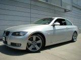 2007 Titanium Silver Metallic BMW 3 Series 335i Convertible #30367400