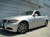 2007 Titanium Silver Metallic BMW 3 Series 328xi Sedan #30367402