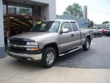 1999 Light Pewter Metallic Chevrolet Silverado 1500 LS Z71 Extended Cab 4x4 #30367793