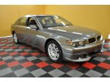 2003 Titanium Grey Metallic BMW 7 Series 745Li Sedan #30367823