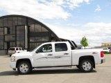 2009 Summit White Chevrolet Silverado 1500 LT Z71 Crew Cab 4x4 #30367888