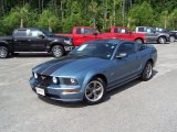 2005 Windveil Blue Metallic Ford Mustang GT Deluxe Coupe #30367921
