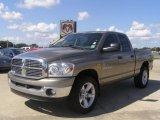 2007 Light Khaki Metallic Dodge Ram 1500 Big Horn Edition Quad Cab 4x4 #30424462