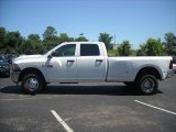 Bright White Dodge Ram 3500 in 2010