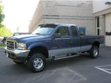 2004 Medium Wedgewood Blue Metallic Ford F250 Super Duty FX4 SuperCab 4x4 #30432484