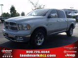 2010 Stone White Dodge Ram 1500 Laramie Crew Cab 4x4 #30432137
