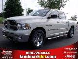 2010 Stone White Dodge Ram 1500 Big Horn Crew Cab #30432140