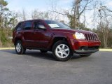 2008 Red Rock Crystal Pearl Jeep Grand Cherokee Laredo #3011785