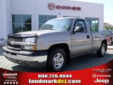 2003 Light Pewter Metallic Chevrolet Silverado 1500 LS Regular Cab #30432144