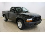 2003 Black Dodge Dakota SXT Regular Cab #30432510