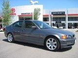 2001 Steel Blue Metallic BMW 3 Series 325i Sedan #30431873