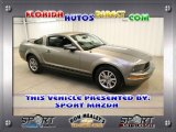 2005 Mineral Grey Metallic Ford Mustang V6 Premium Coupe #30432551