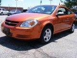 2007 Sunburst Orange Metallic Chevrolet Cobalt LS Coupe #30431923