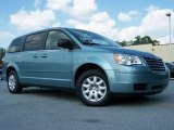 2010 Clearwater Blue Pearl Chrysler Town & Country LX #30431969