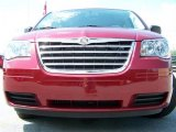 2010 Chrysler Town & Country Deep Crimson Crystal Pearl