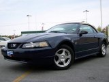 2003 True Blue Metallic Ford Mustang V6 Convertible #2974073