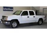 2005 Summit White Chevrolet Silverado 1500 LS Crew Cab 4x4 #30432440
