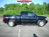 2009 Black Chevrolet Silverado 1500 LT Extended Cab 4x4 #30432456