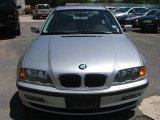 2000 Titanium Silver Metallic BMW 3 Series 323i Sedan #30484782