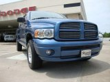 2005 Atlantic Blue Pearl Dodge Ram 1500 SLT Quad Cab 4x4 #30485127