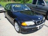 2001 Jet Black BMW 3 Series 325i Sedan #30484805