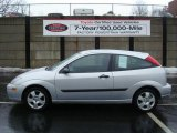 2003 CD Silver Metallic Ford Focus ZX3 Coupe #3015203