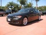 2007 Jet Black BMW 3 Series 335i Sedan #30484646