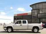 2005 Silver Birch Metallic Chevrolet Silverado 1500 Z71 Extended Cab 4x4 #30485149