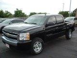2007 Black Chevrolet Silverado 1500 LS Crew Cab #30485163