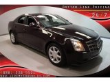 2009 Black Cherry Cadillac CTS Sedan #30484665