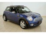 2007 Lightning Blue Metallic Mini Cooper Hardtop #30485210