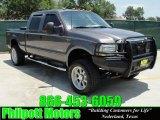 2003 Dark Shadow Grey Metallic Ford F250 Super Duty FX4 Crew Cab 4x4 #30484871