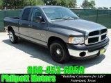 2004 Graphite Metallic Dodge Ram 1500 SLT Quad Cab #30484872