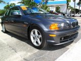 2000 Steel Grey Metallic BMW 3 Series 328i Coupe #30484538