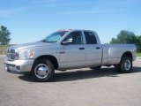 2008 Bright Silver Metallic Dodge Ram 3500 Big Horn Edition Quad Cab Dually #2974431