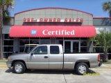 2001 Pewter Metallic GMC Sierra 1500 SLE Extended Cab #30484676