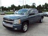 2007 Blue Granite Metallic Chevrolet Silverado 1500 LT Extended Cab #30485239