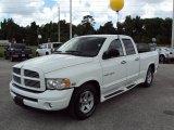 2004 Bright White Dodge Ram 1500 SLT Quad Cab #30485246