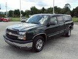 2004 Dark Green Metallic Chevrolet Silverado 1500 LS Extended Cab #30485252
