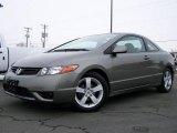 2007 Galaxy Gray Metallic Honda Civic EX Coupe #2974190