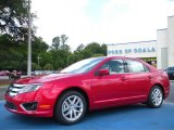 2010 Red Candy Metallic Ford Fusion SEL #30484724