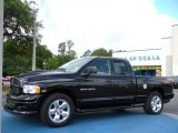 2004 Black Dodge Ram 1500 Sport Quad Cab #30484737