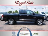 2008 Brilliant Black Crystal Pearl Dodge Ram 1500 Big Horn Edition Quad Cab 4x4 #30484607