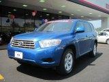 2008 Blue Streak Metallic Toyota Highlander  #30485011