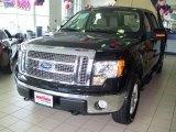 2010 Tuxedo Black Ford F150 Lariat SuperCrew 4x4 #30484740