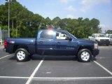 2010 Imperial Blue Metallic Chevrolet Silverado 1500 LTZ Crew Cab 4x4 #30485044