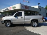 2006 Silver Birch Metallic Chevrolet Silverado 1500 Work Truck Regular Cab 4x4 #30485053